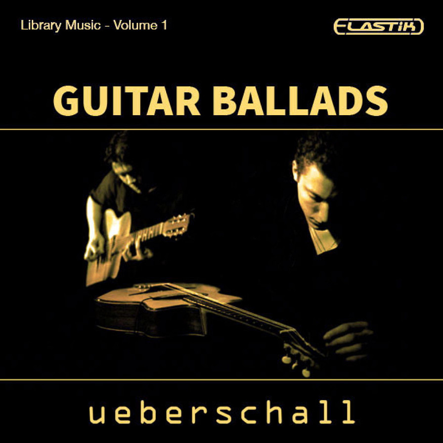 Guitar Ballads - 10 construction kits of 1.9GB of guitar ballads