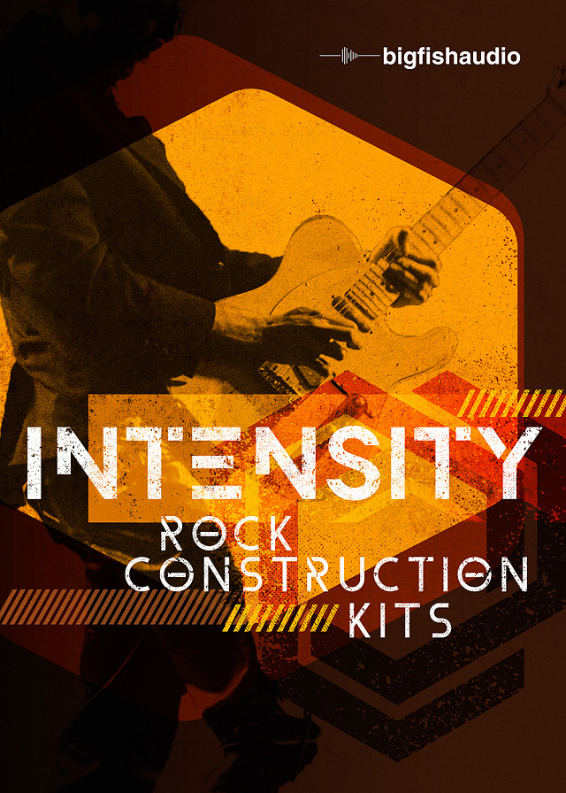 Intensity: Rock Construction Kits - Over 5GB of heavy, upbeat, in-your-face Rock tracks