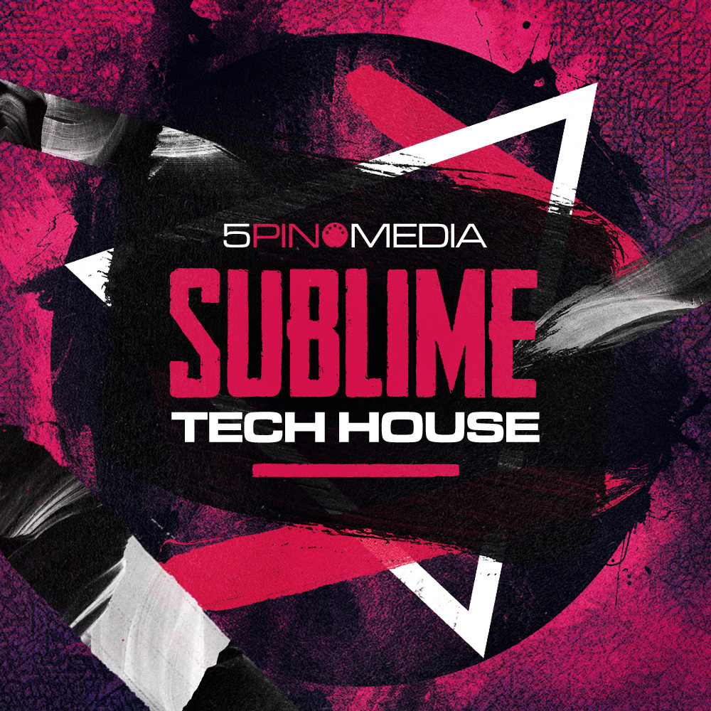 Sublime Tech House - An exceptional collection for producers looking to boost their Tech productions