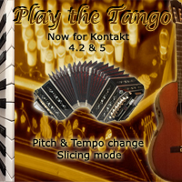 Play the Tango - Bandoneon, piano and guitar Tango loops and sounds