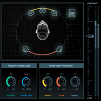 Nx - Virtual Mix Room over Headphones - A virtual monitoring plugin that simulates the ideal high-end acoustics