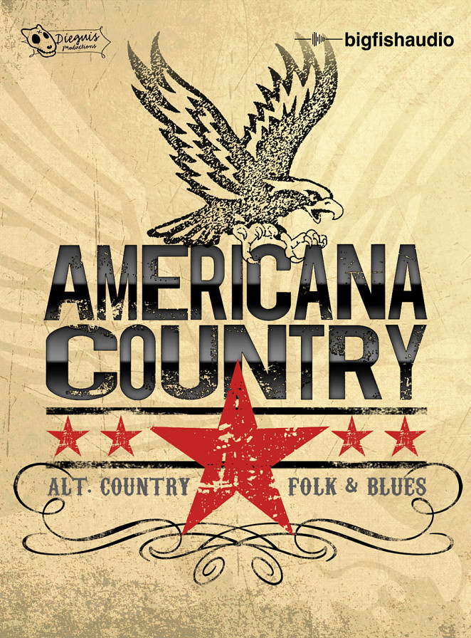Americana Country - Alternative Country, Folk and Blues