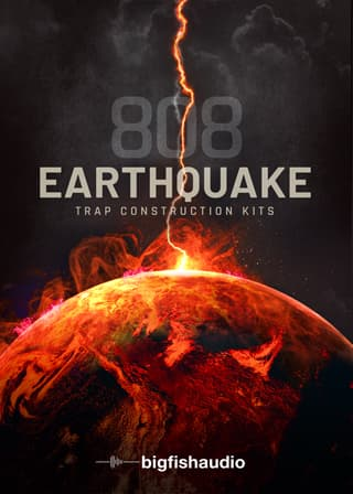 808 Earthquake - 50 various styles of 808 loops all made with the modern producer in mind