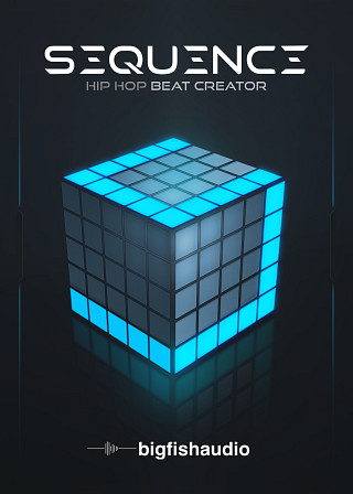 Sequence: Hip Hop Beat Creator Drums/Percussion Instrument