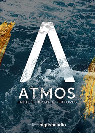 ATMOS: Indie Cinematic Textures - Textured guitar and drum soundscapes to create emotion