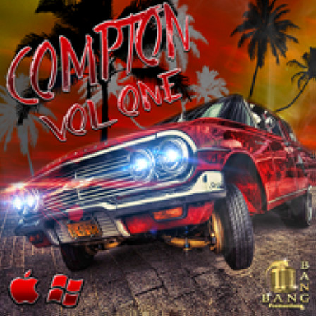 Compton Vol.1 - Five Construction Kits filled with hard hitting West Coast sounds