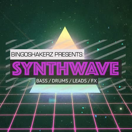 Synthwave product image