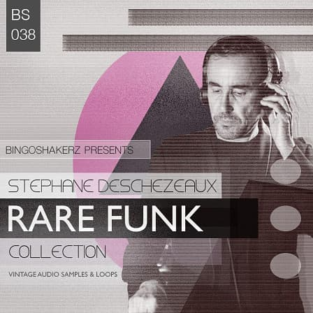 Stephane Deschezeaux: Rare Funk Collection product image