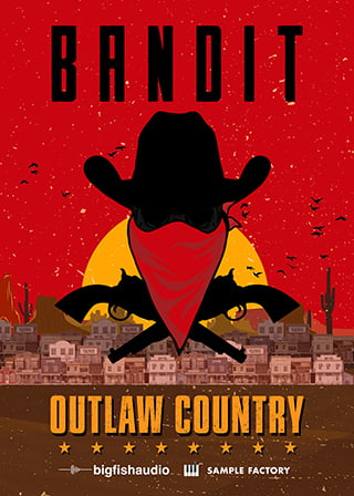 Bandit: Outlaw Country - 15 massive Outlaw Country construction kits