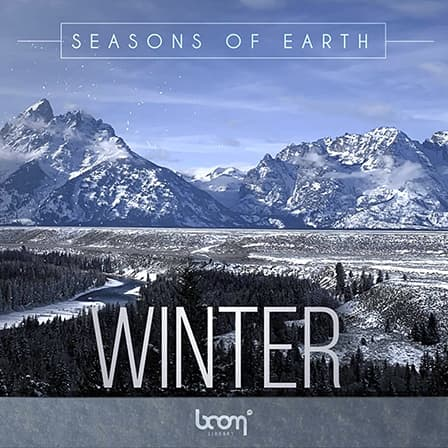 Seasons of Earth - Winter - Calm breezes, chilling tonal wind, faint sounds of trickling snowflakes & more!