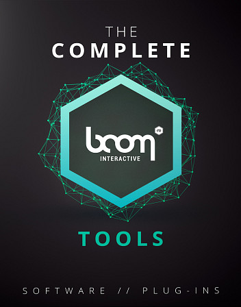 Complete Boom Tools, The - All Boom Interactive Software in one bundle