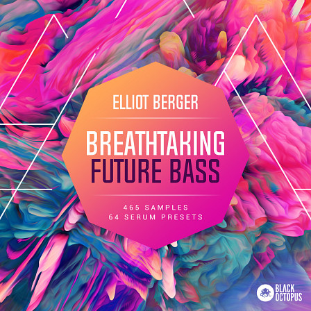 Breathtaking Future Bass - Premium future bass drum samples, arps, basses, chord modulations, and 808s