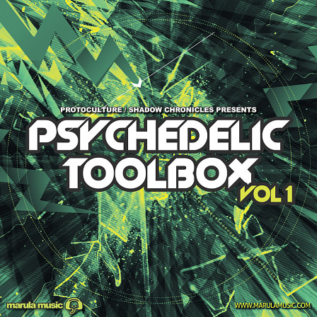 Psychedelic Toolbox Vol 1 By Marula Music - Heavy hitting Psychedelic Trance tools at your finger tips!