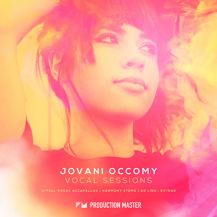 Jovani Occomy Vocal Sessions - Pick up these beautiful silk-like vocals and inspiring lyrics