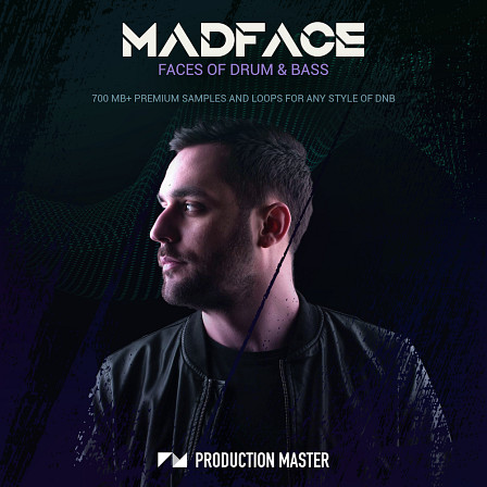 Madface - Faces of Drum & Bass - Energetic drums, sparkling percussion and deep rolling basslines