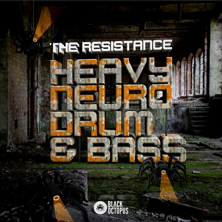 Resistance - Heavy Neuro Drum and Bass, The - Hard hitting, tension fueled samples straight into your Drum & Bass productions