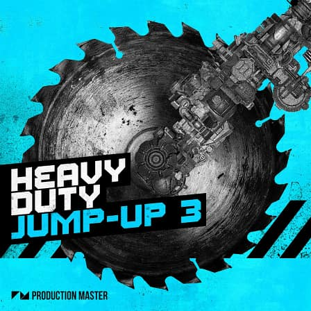 Heavy Duty Jump Up Vol.3 - Nasty basses mixed with heavy drums that'll obliterate every crowd!