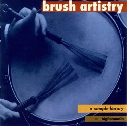 Brush Artistry - Brush drum loops, fills, endings and sounds