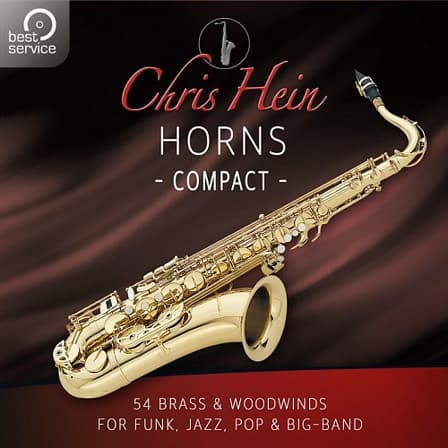 Chris Hein Horns Compact - 54 Brass & Woodwind Instruments