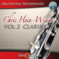 Chris Hein Winds Vol.2 Clarinets product image