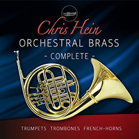 Chris Hein Orchestral Brass Complete - Orchestral Brass instruments for your computer in unheard perfection!