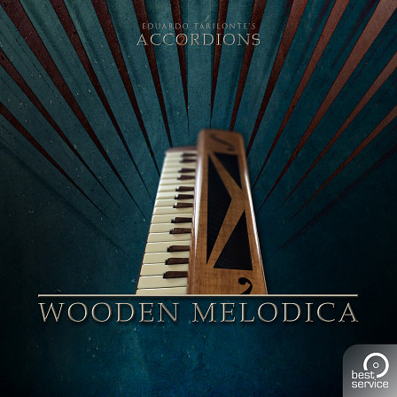 Big Fish Audio - Accordions 2 - Single Wooden Melodica - Hand