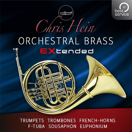 Chris Hein Orchestral Brass EXtended - Orchestral Brass Instruments in unheard perfection!