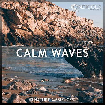 Nature Ambiences - Calm Waves - Sandy coast, rocky seashore, pebble-filled beaches, jetties and silent shores