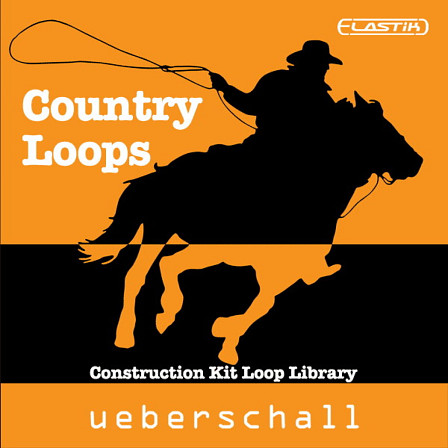 Country Loops - 1,823 loops and hits in 20 country construction kits