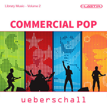 Commercial Pop - 3.4 GB of pop loops and samples in 8 construction kits