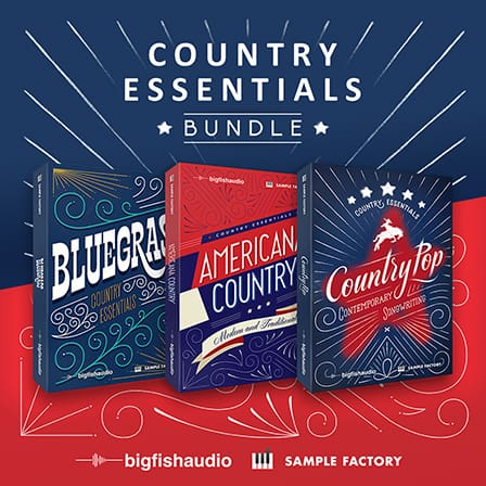 Country Essentials Bundle - A massive 17.43 GB collection of pure Country goodness!