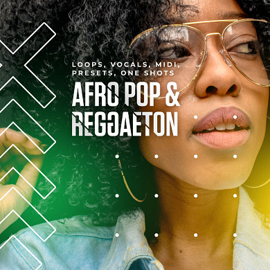 Afro Pop & Reggaeton - 5 great sounding construction kits with vocals parts included