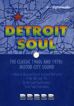 Detroit Soul - Detroit Soul represents the Motor City sound that changed the face of music