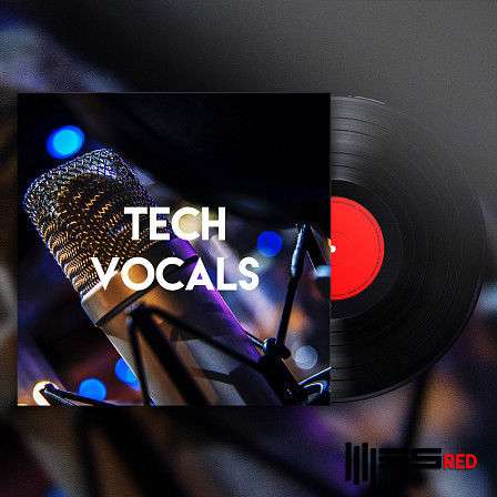 Tech Vocals - Including 95 Vocal Lines with different processing in a Dry and Wet versions