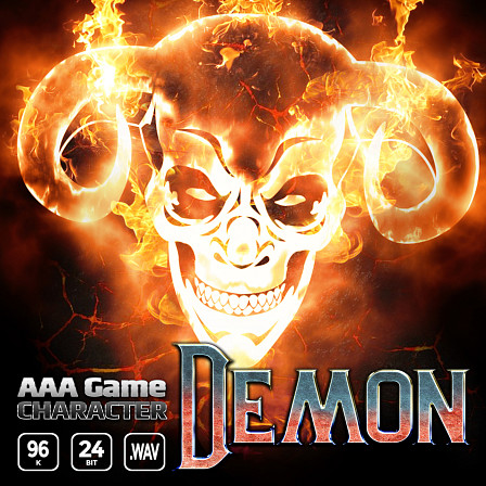 AAA Game Character Demon - A robust vocal sound effects bank that brings rich and dynamic game ready voice