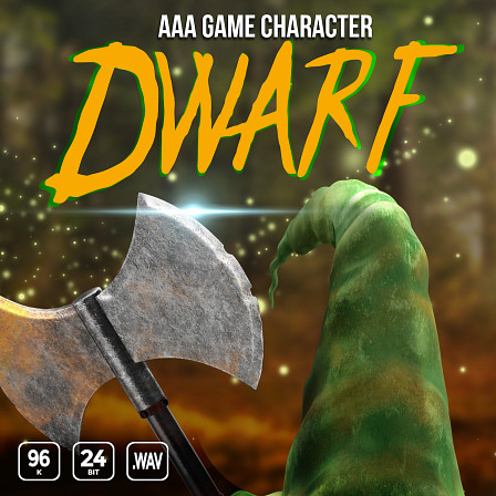 AAA Game Character Dwarf - Rich dwarven voice over sayings, dialogue, vocalizations and more.