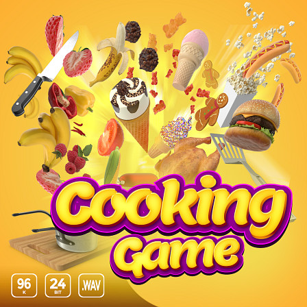 Cooking Game - Get ready to enjoy a delicious culinary adventure in sound!