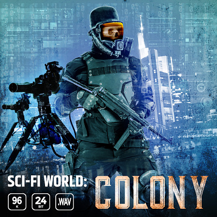 Sci-fi World Colony - Sci-fi sound environments for your next game, film, and audio productions