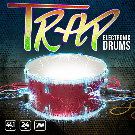Trap-ED - A groove inspiring hybrid collection of trap and electronic drum elements