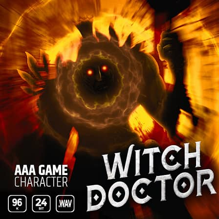 AAA Game Character Witch Doctor - Call upon an ancient tribal shaman in your next production!