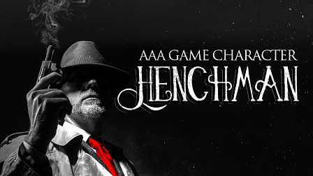 AAA Game Character Henchman - Contract a charismatic mobster voice in your next game & film audio production!