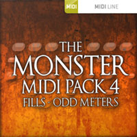 Monster MIDI Pack 4 Fills Odd Meters product image