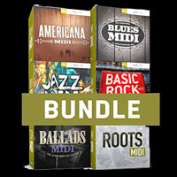 Essential Drums MIDI 6 Pack Bundle product image