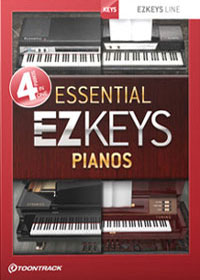 EZkeys Essential Pianos Bundle product image