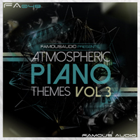 Atmospheric Piano Themes Vol.3 - Features 22 cinematic crescendos and heart-wrenching piano phrases in WAV & MIDI