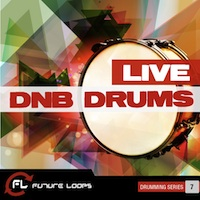 Live DNB Drums - A fierce collection of over 700 Live Breaks, Drums and Fills