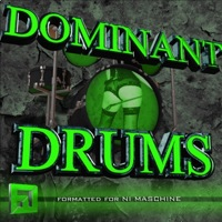 Dominant Drums - 25 fully Maschine optimized kits, 6 synths, 5 multi fx groups and more