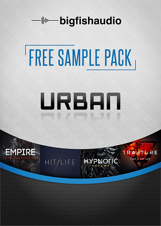 Big Fish Audio - Free Sample Pack - Urban - Free Pack of