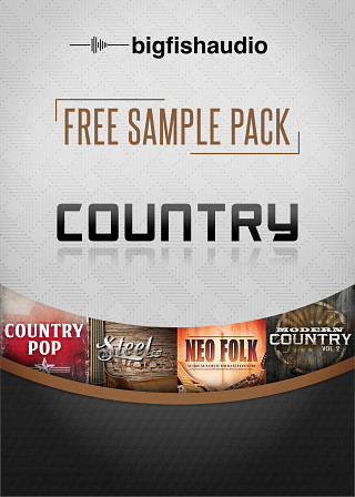 Big Fish Audio - Free Sample Pack - Country - Free Pack of