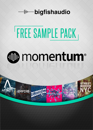 Free Sample Pack - Momentum - Free pack of Momentum formatted loop libraries